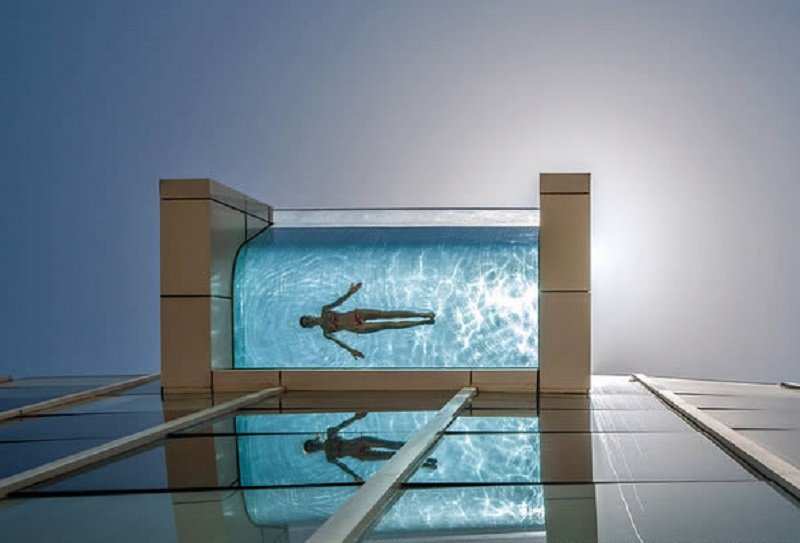 10 Magnificent Suspended Pools From Around The World