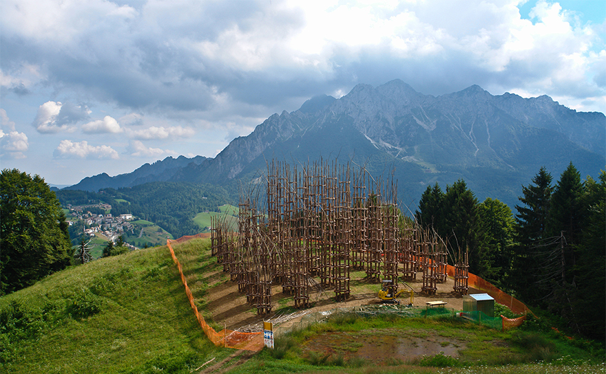 Eight Breathtaking Images of a Cathedral Made of Trees