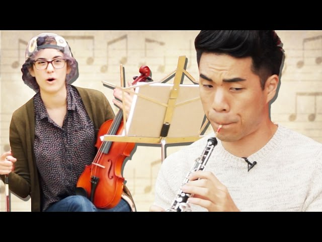 These People Give Their Childhood Instruments Another Spin