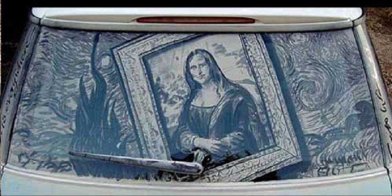 10 Amazing Pieces Of Work Done On Dirty Cars