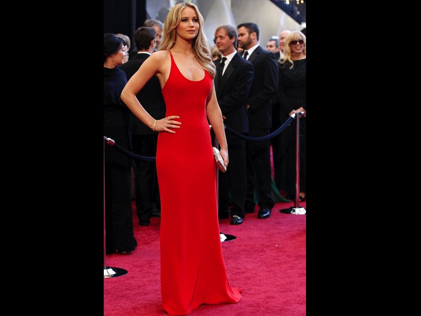 10 Hottest Red Carpet Looks From Jennifer Lawrence