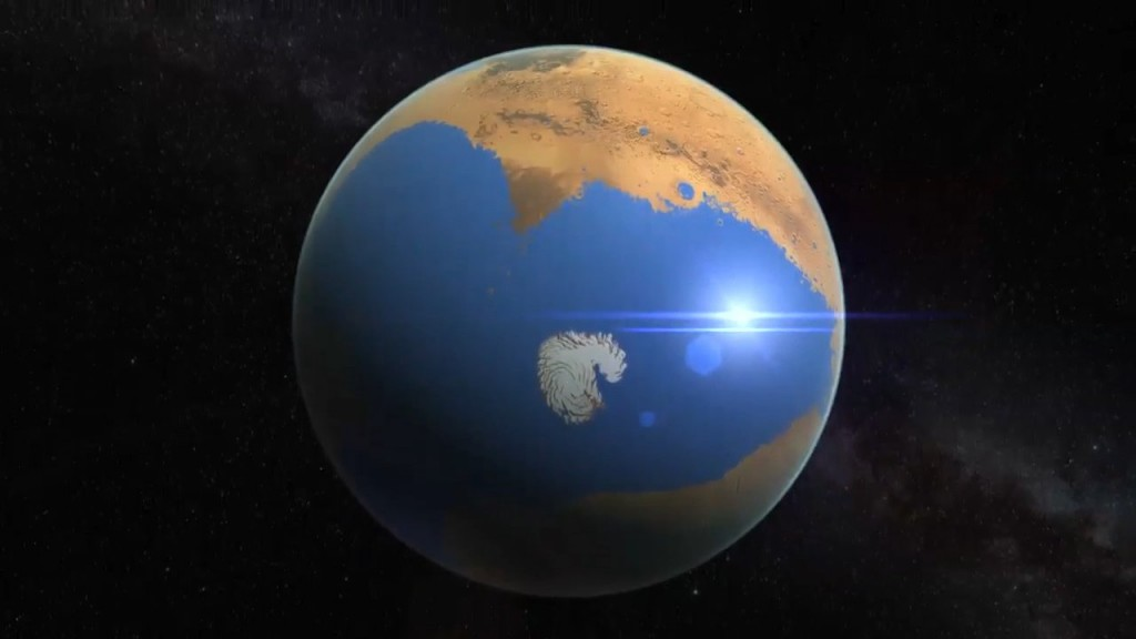 4.3 Billion Years Ago Mars Had An Ocean