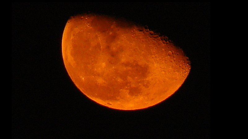 Blood Red Moon Believed To Signal The World's End