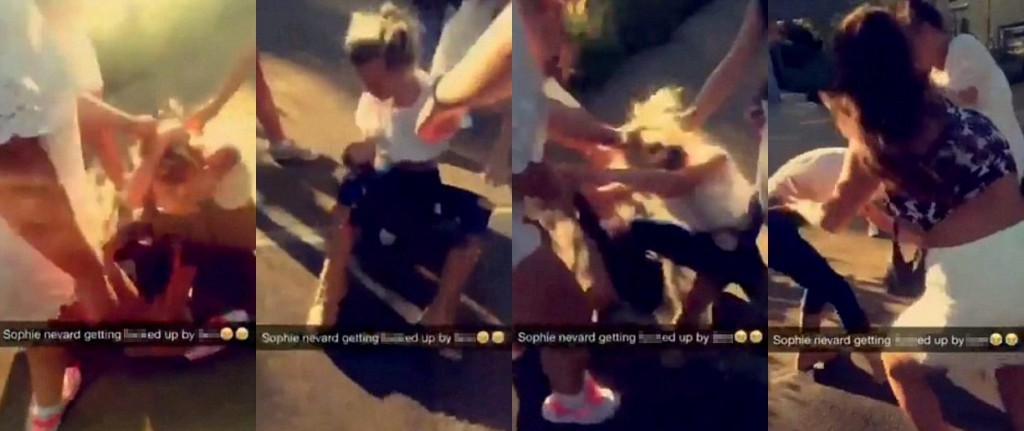 Bullies Snapchat Their Horrific Attack And Set Victims Hair On Fire Only Receive Cautions