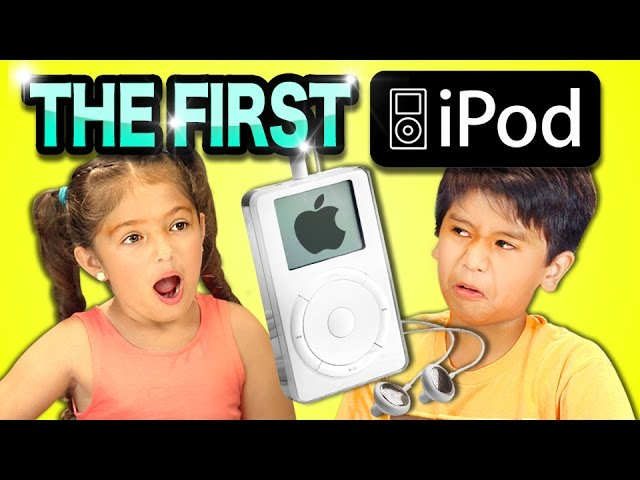 Check Out These Kids' Hilarious Reactions To The First Gen iPod