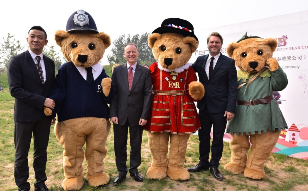 China Is Building A Theme Park Based On British Teddy Bears