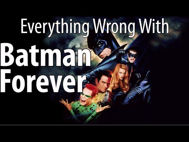CinemaSins Highlights Everything Wrong With 'Batman Forever'