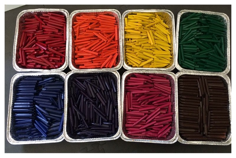 Dad Finds Way To Reuse Old Crayons To Donate To Children Hospitals
