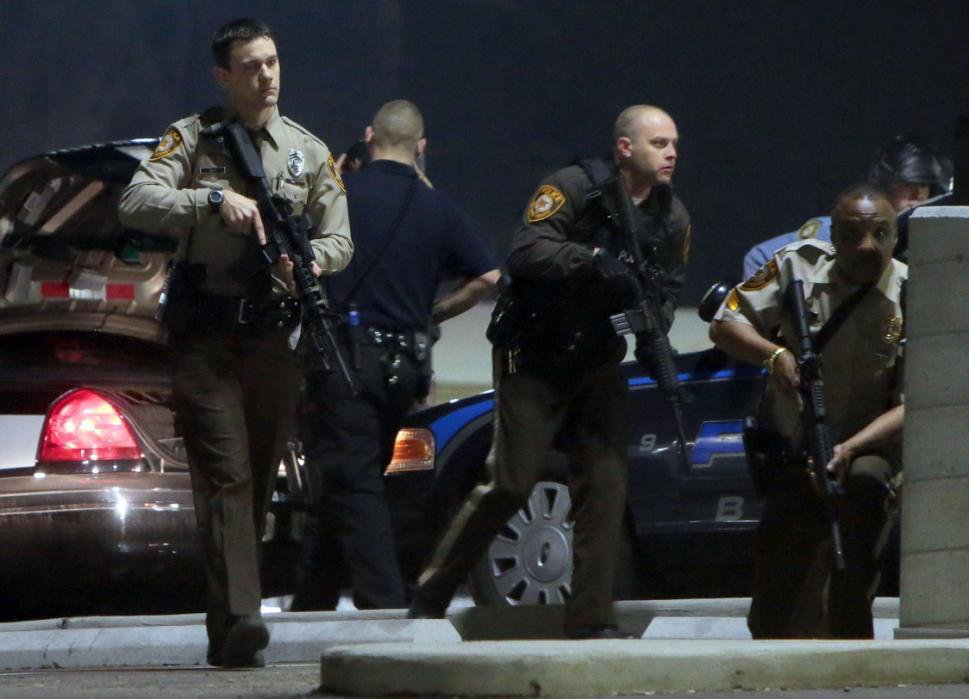 Ferguson, Missouri Erupts In Violence Again, Two Police Officers Shot
