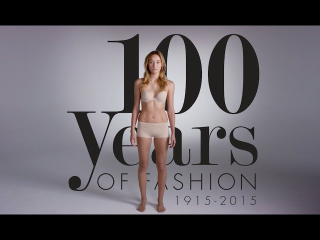 How Women's Fashion Changed Over 100 Years In 2 Minutes