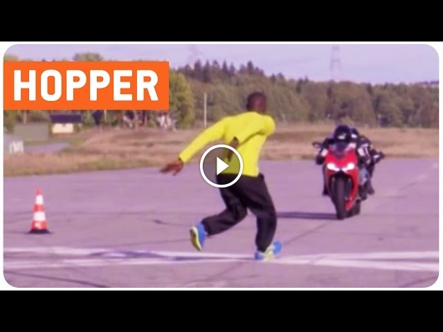 Impressive Swede Jumps Not One But Two Speeding Bikes
