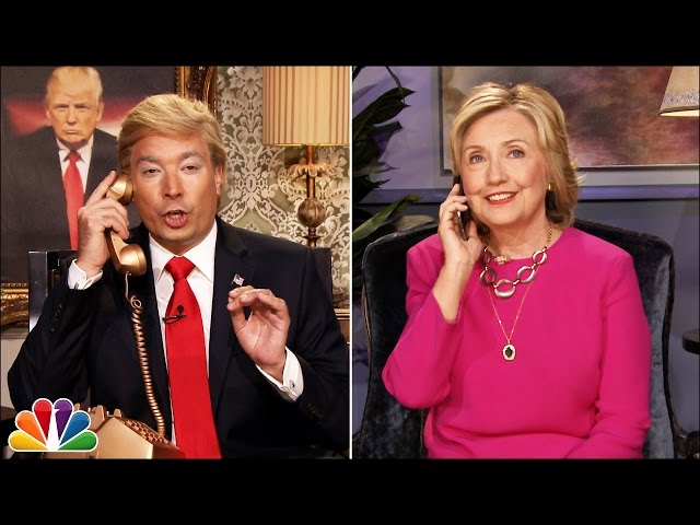 Jimmy Fallon Interviews Hillary Clinton As Donald Trump
