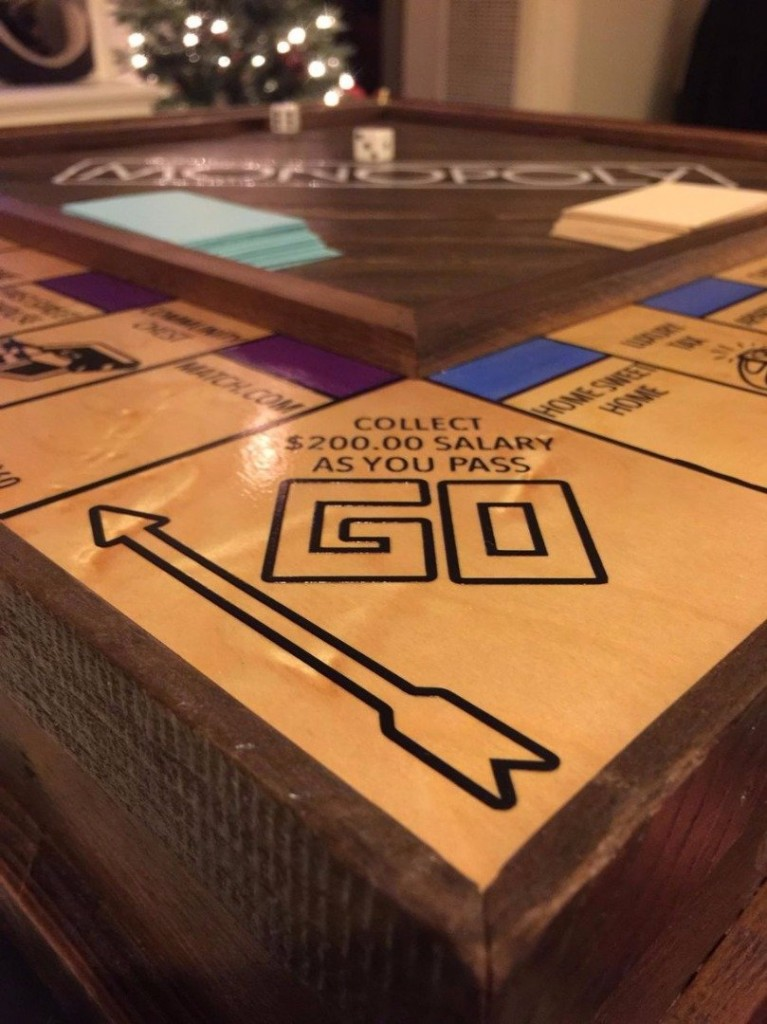 Man Proposes Using A Handmade Monopoly Board