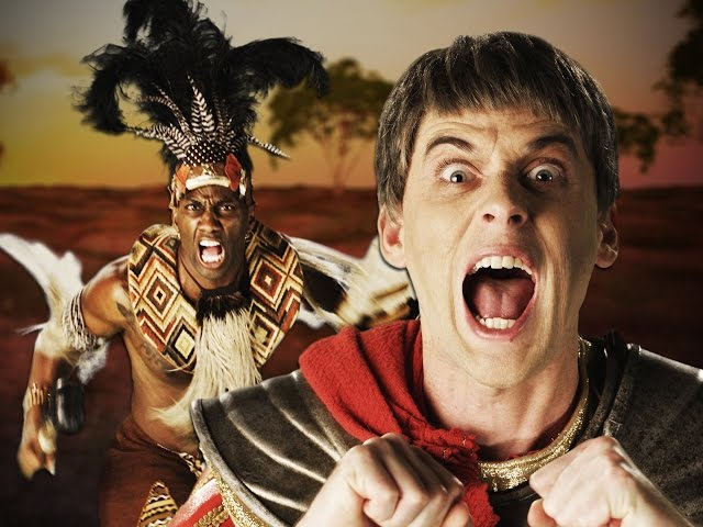 Shaka Zulu Faces Off Julius Caesar In An Epic Rap Battle