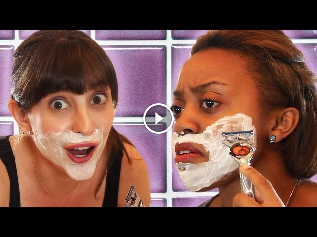 These Women Shave Their Faces, Their Reactions Are Priceless!
