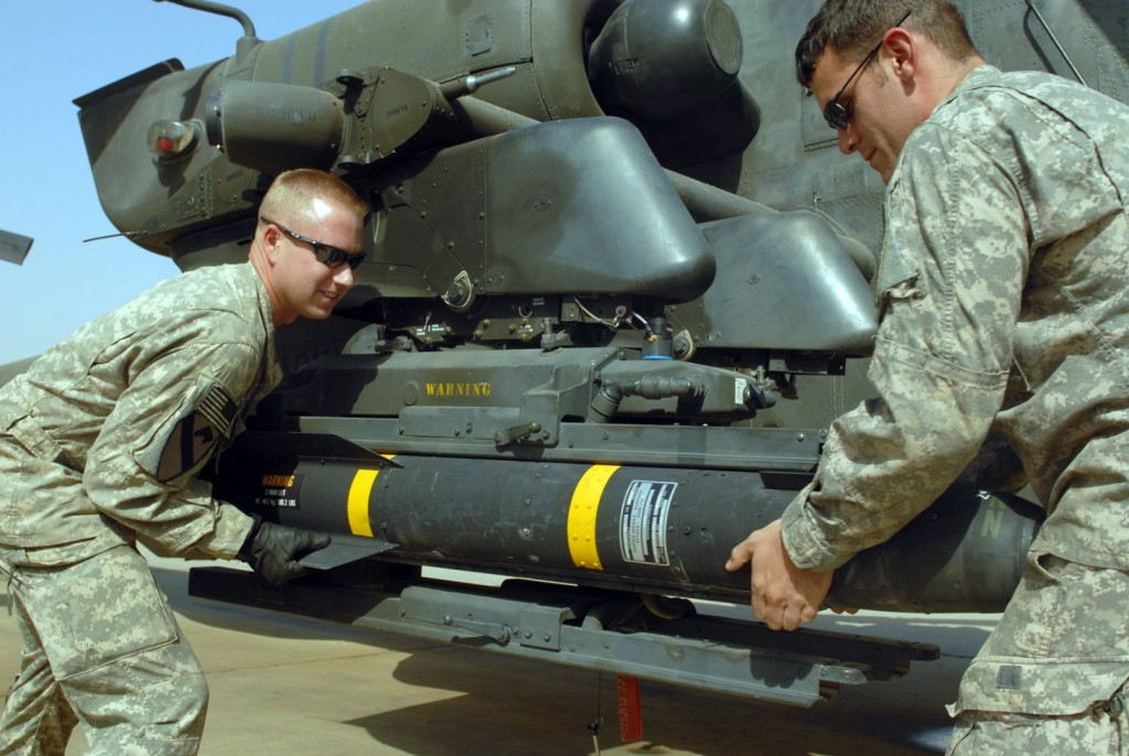 US Military Looking For Hellfire Missile That Fell Off Helicopter