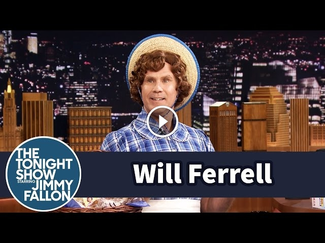 Will Ferrell Shows Up As Little Debbie On The Tonight Show With Jimmy Fallon