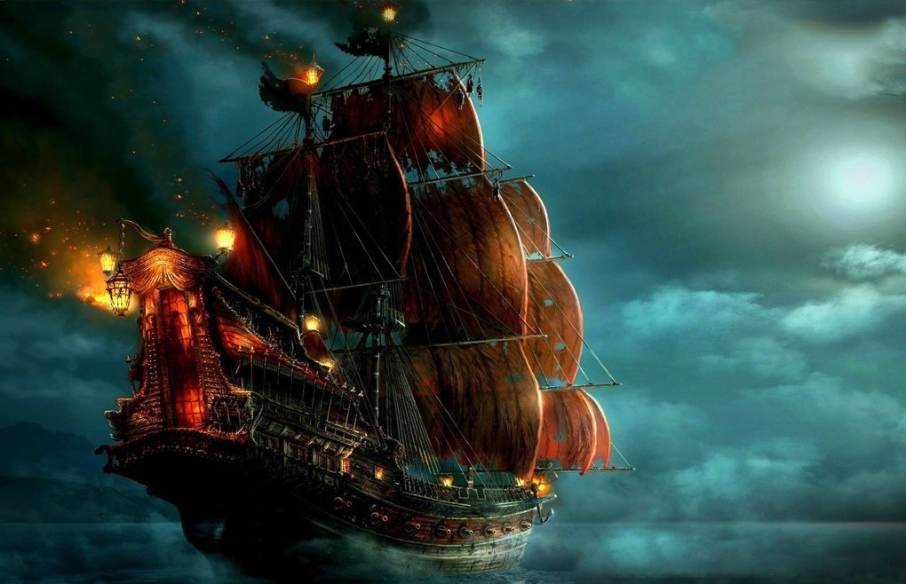 10 Fearsome Ships From The Pirate Ages