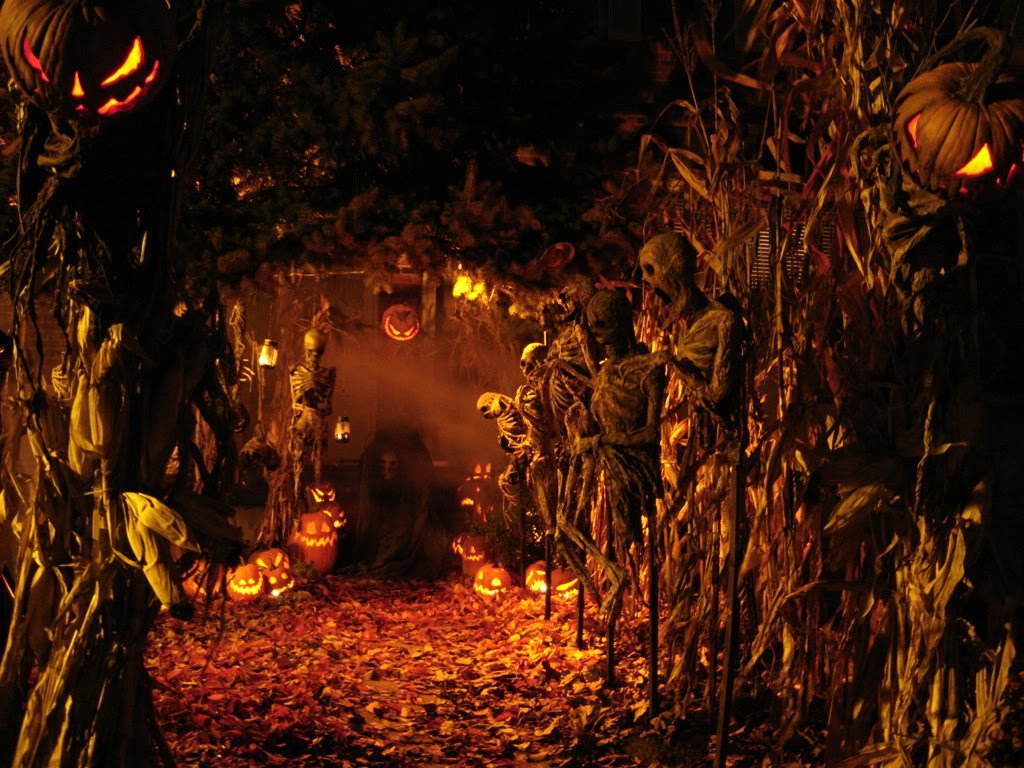 A holiday falling on the night of 31 October to 1 November celebrated by the ancient Celts and by modern neopagans as the beginning of winter and the