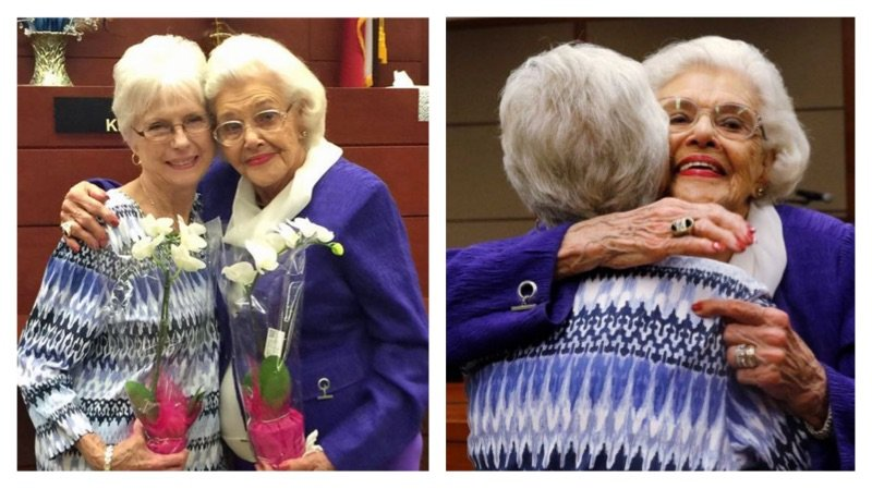 92-Year-Old Woman Adopts Her 76-Year-Old Cousin