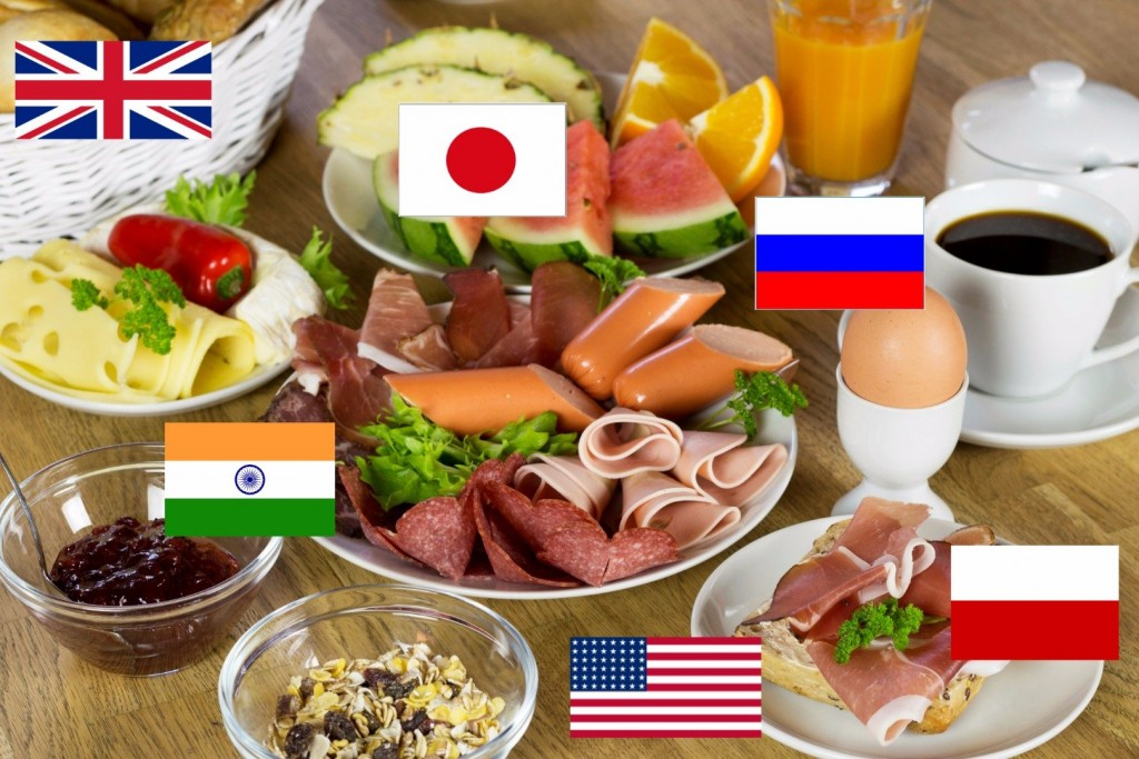 Breakfast From 14 Countries Around The World