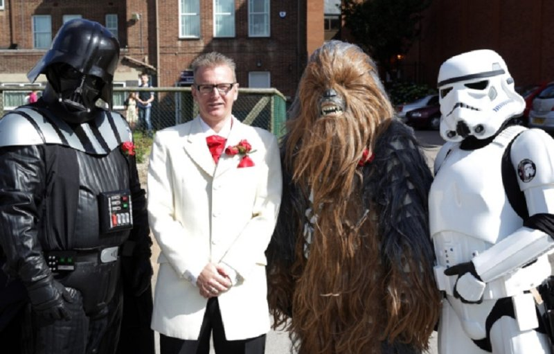 Couple Host Amazing Star Wars Themed Wedding