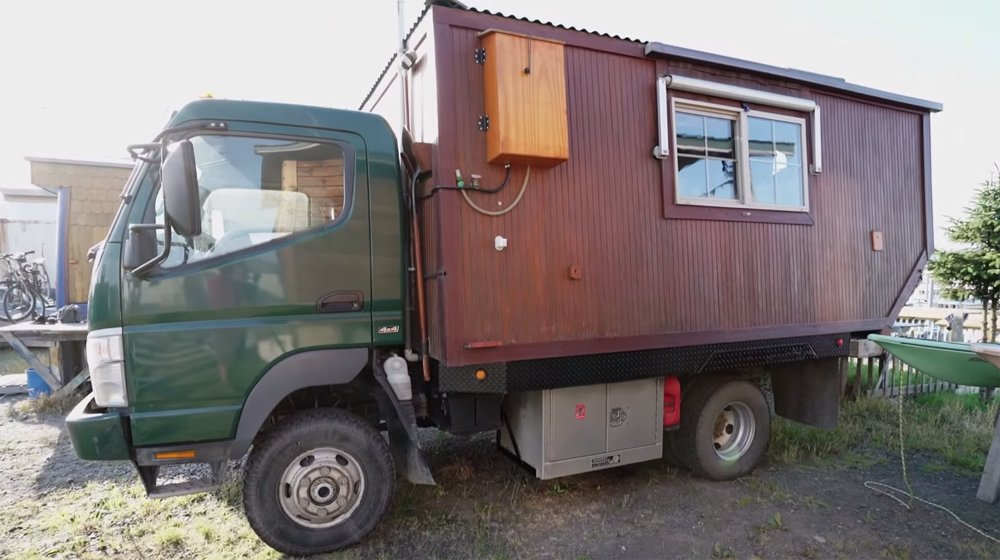 Couple Travels Across The World In Homemade House-Truck