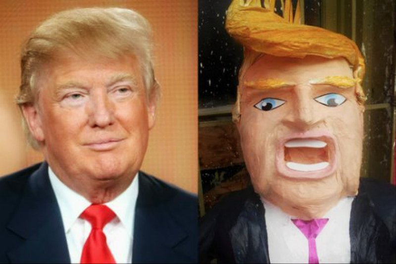 Donald Trump Piñatas Becoming Popular in Mexico