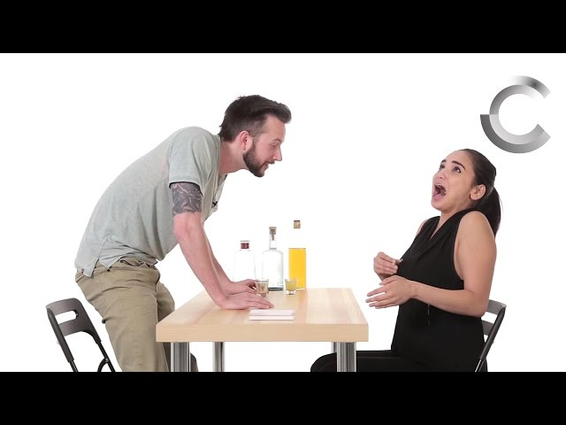 Exes Play A Hilarious Round Drink Or Dare