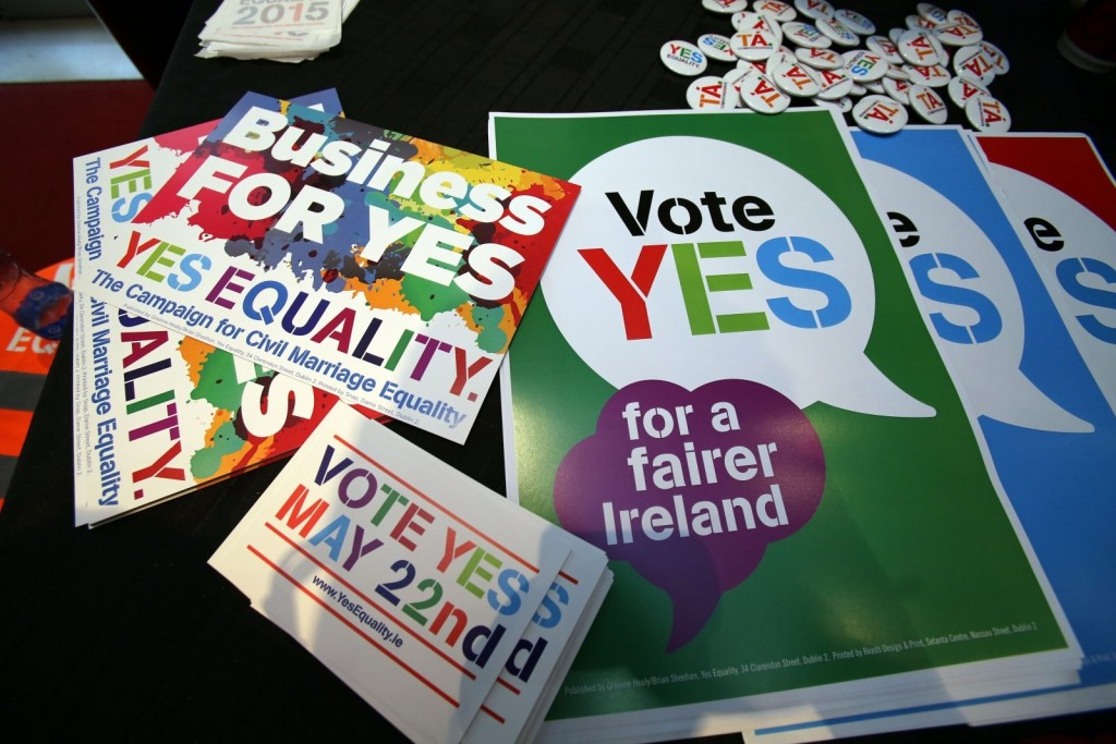 Irish Citizens Vote To Legalize Same-Sex Marriage