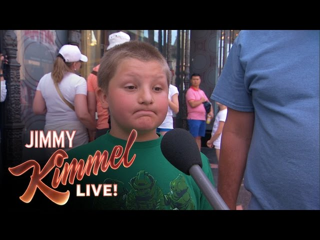 Jimmy Kimmel Proves Kids Say The Darndest Things About Gay Marriage