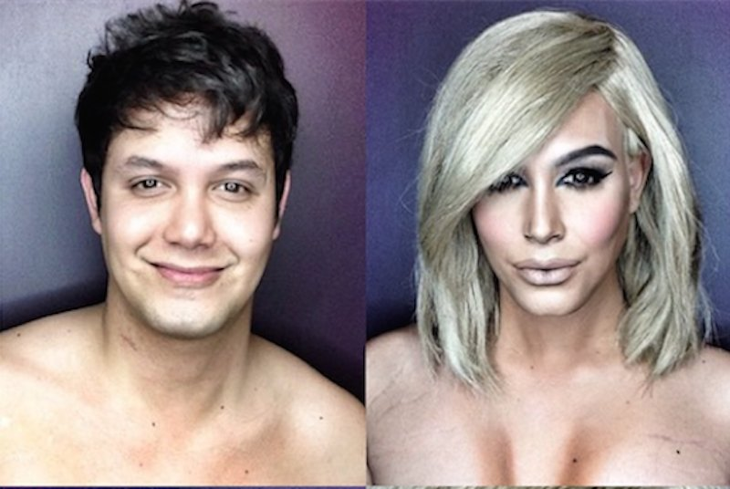 Makeup Artist Transforms Himself Into Female Celebrities