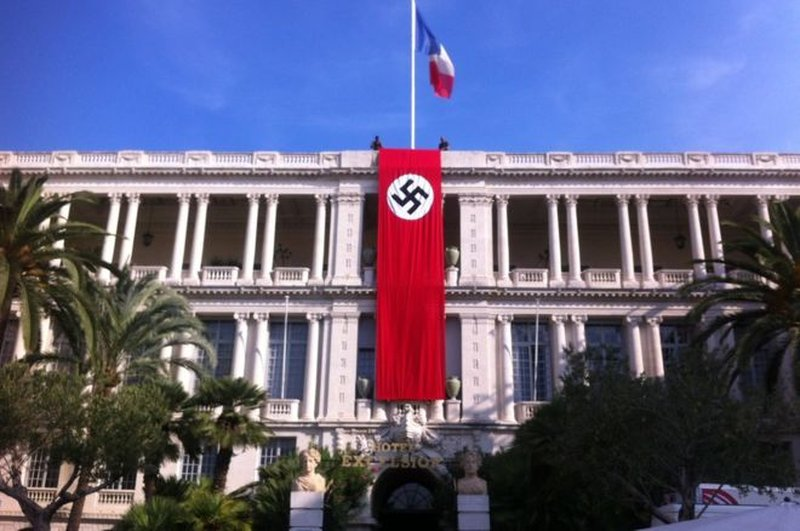 Nazi Banner Displayed For Filming Causes Outrage In France
