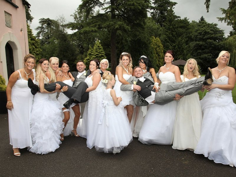You'll Never Guess What This Gay Couple Asked Their Brides Maids To Do