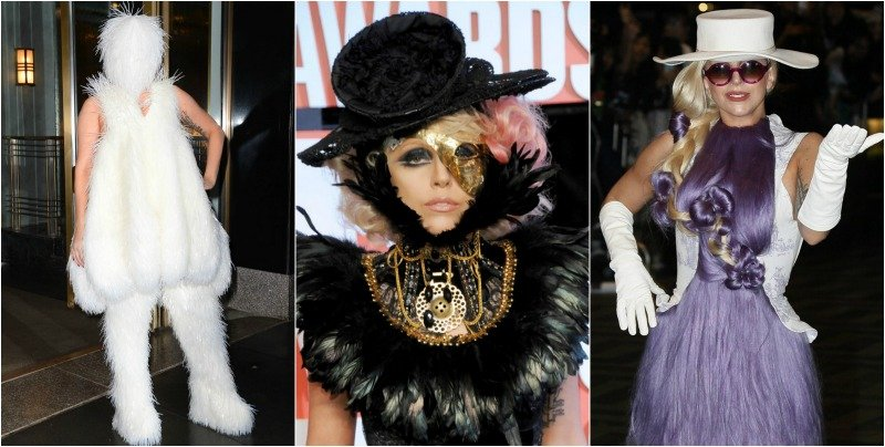 20 Of Lady Gaga's Craziest Outfits