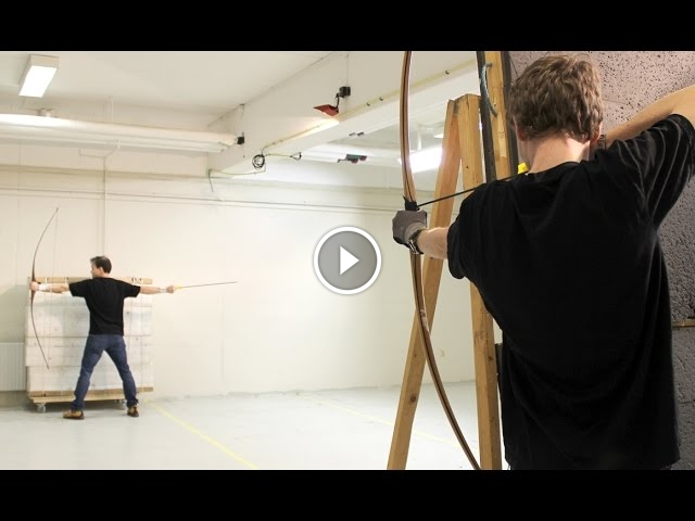 Archer Lars Andersen Has Amazing Skills, Putting Robin Hood To Shame