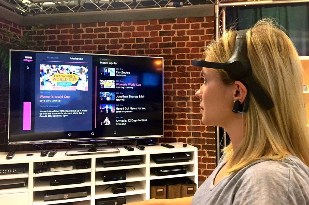 BBC Tests Mind Control TV Headset