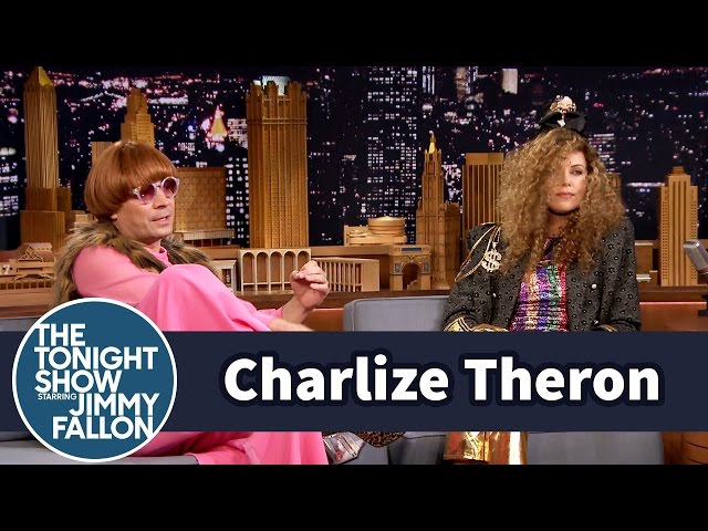 Charlize Theron And Jimmy Fallon Play Dress Up