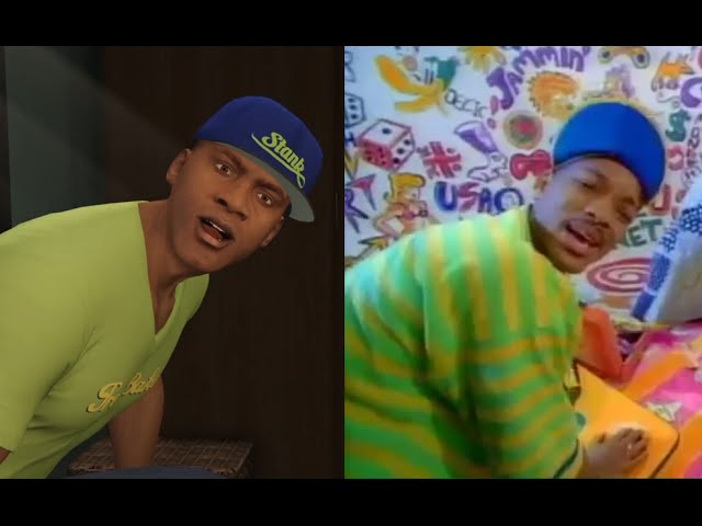 Grand Theft Auto 5 And Fresh Prince of Bel Air Mashup is Epic