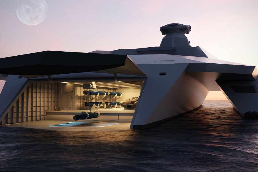 Royal Navy's Warship Of The Future Unveiled And It Is Amazing