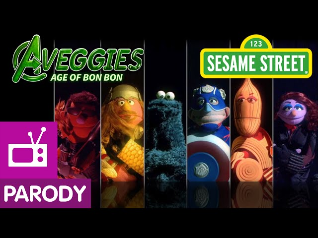Sesame Street Creates Avengers: Age Of Ultron Parody