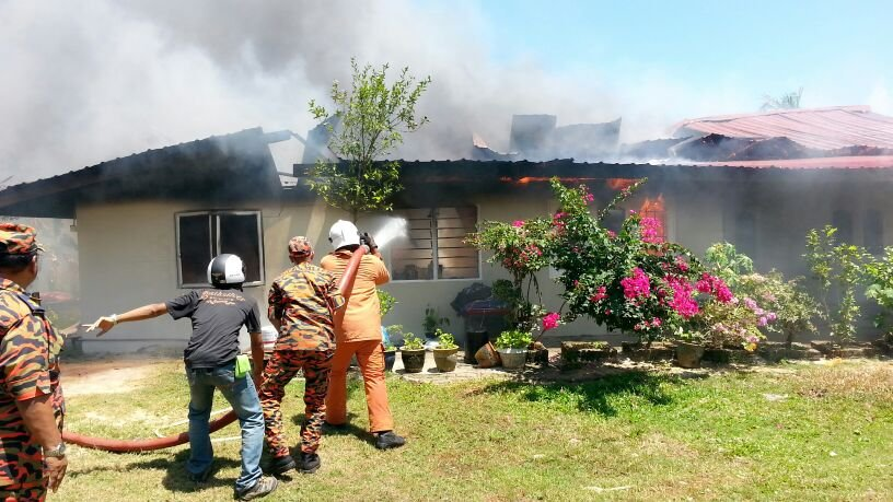 A Man Suffers Severe Trauma After Watching A Plane Crash Into His Son's Home