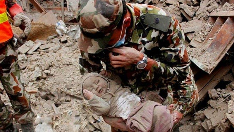 Baby Shockingly Survives 22 Hours Under Earthquake Rubble