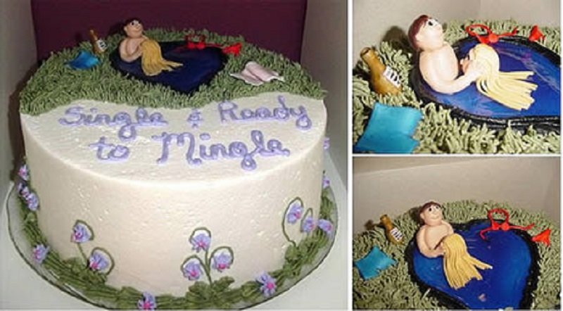 10 Hilarious And Shocking Divorce Cakes