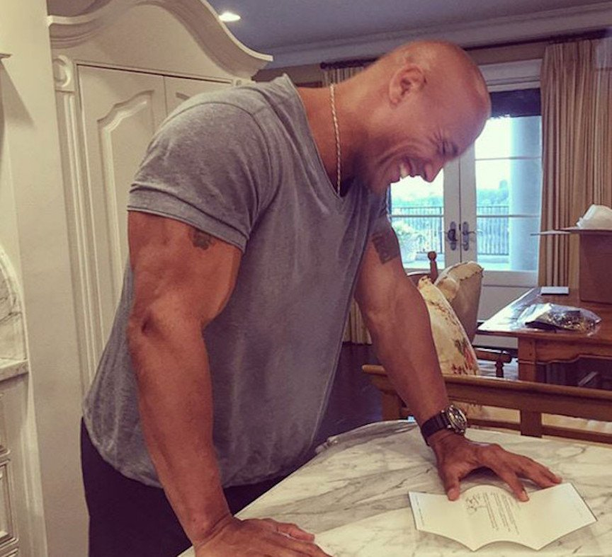 Dwayne 'The Rock' Johnson's Childhood Dream Comes True