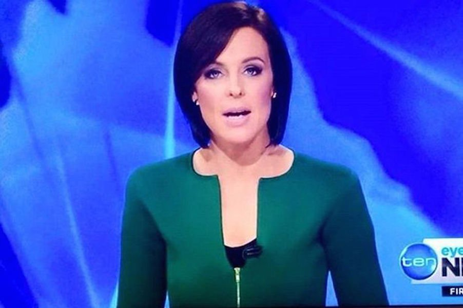 News Reporter's Questionable Neckline Makes News