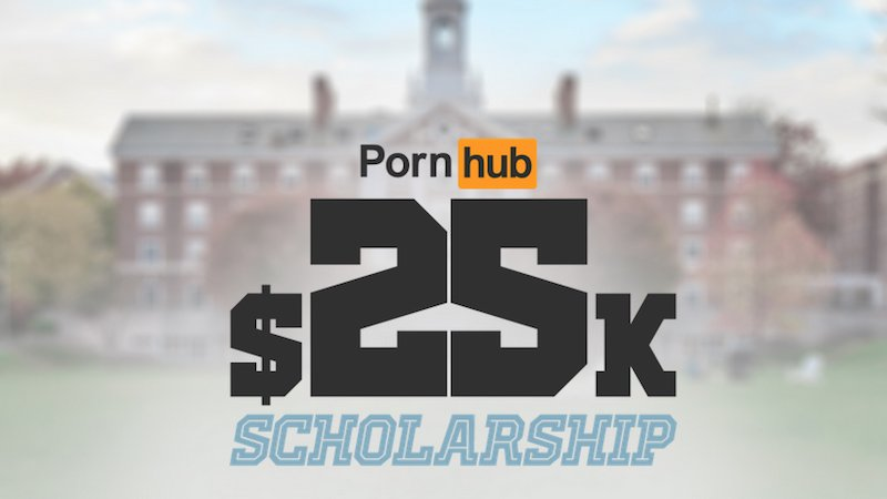 Pornhub Now Offering One-Year College Scholarship